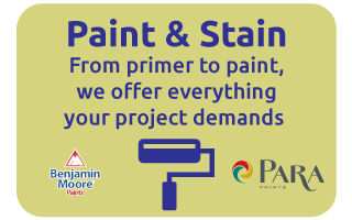 paint and stain